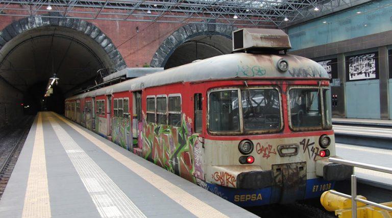 クマナの列車