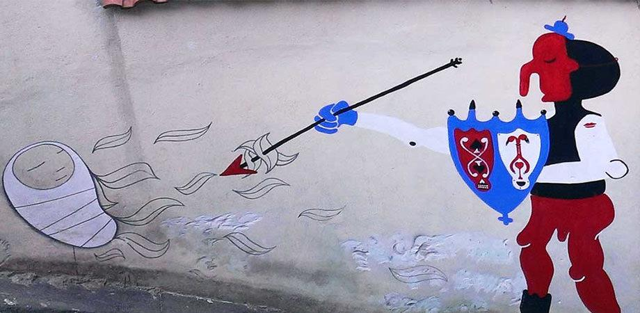 Cyop&Kaf murales Quartieri Spagnoli