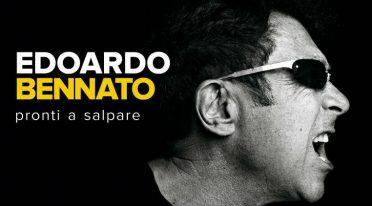 Locandina del tour Pronti a Salpare di Edoardo Bennato, concerto di Ercolano