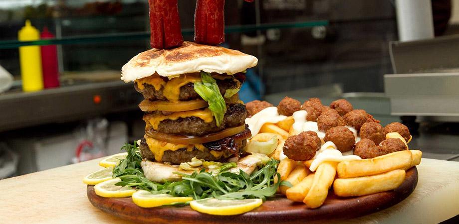 Tortora burgers The City Pub