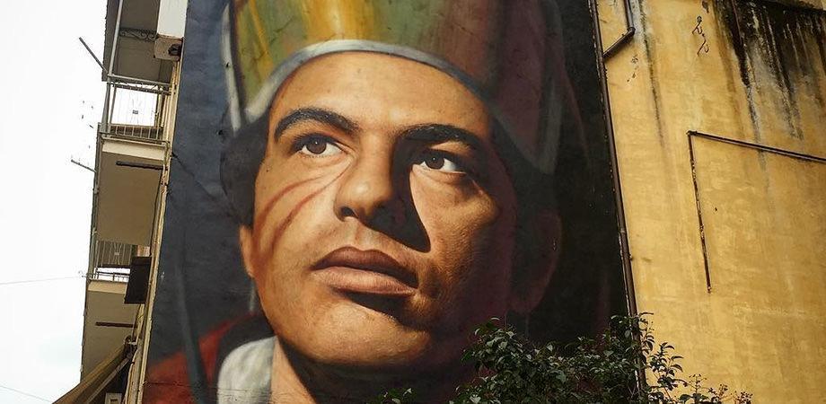 Murales di San Gennaro a Napoli