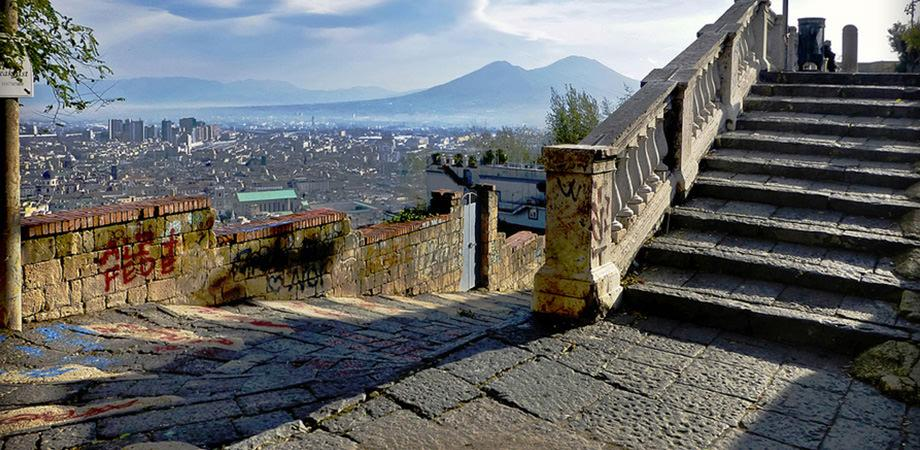 Pedamentina scalinata Napoli