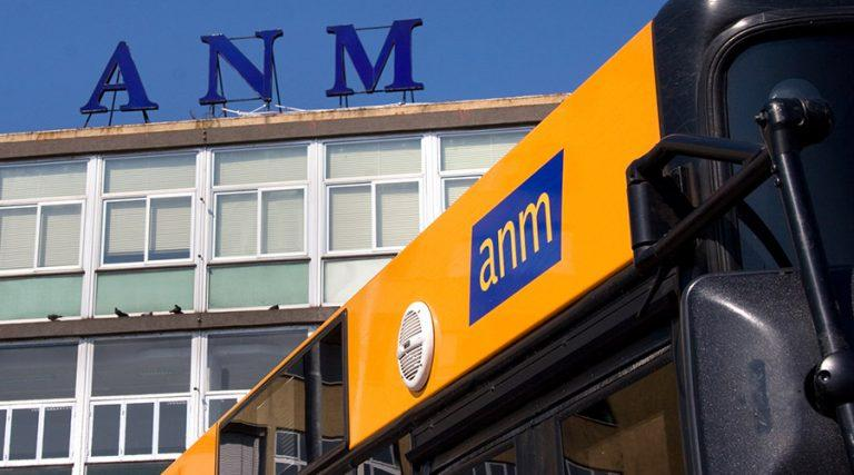 Bus of the ANM whose tickets will be increased from June 2017 to Naples