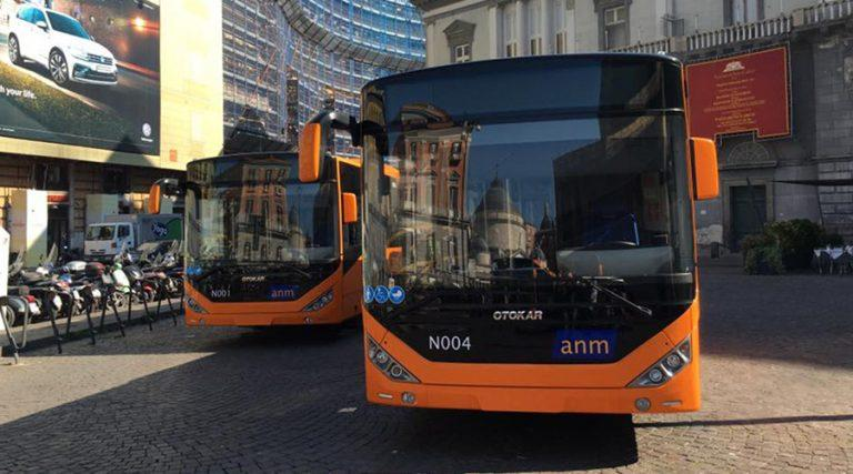 ANM bus in Naples, lines boosted towards the sea
