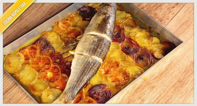 Ricetta Del Cefalo Al Forno Con Patate Cucinare Alla Napoletana