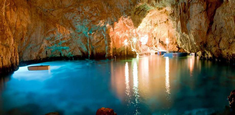 Grotta dello Smeraldo ad Amalfi