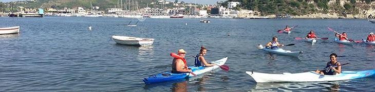 Escursione in Kayak al Canoe Club di Napoli