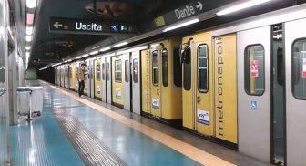 Metro linea 1 di Napoli, orari estivi 2017