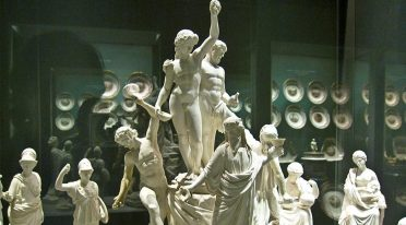 Statuettes at the Capodimonte Museum
