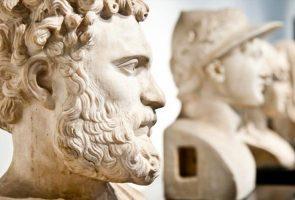 Statua nel Museo Archeologico di Napoli