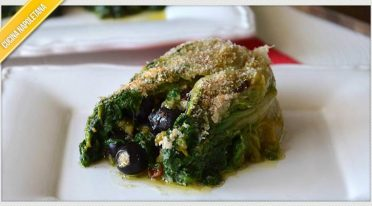 Upholstered escarole, the Neapolitan recipe