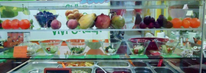 Peel and drink Green Fruit Bar Napoli