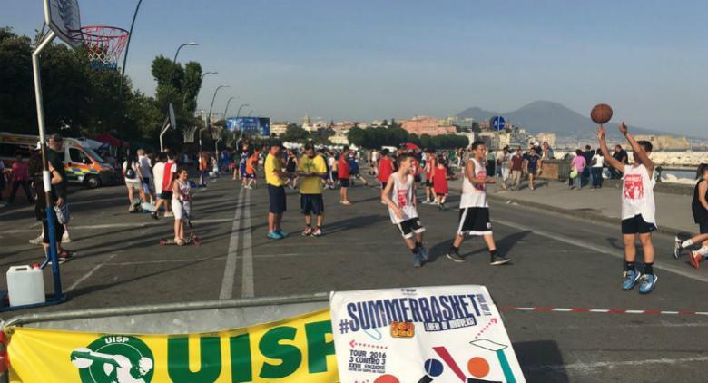 festa della pallacanestro summerbasket a napoli