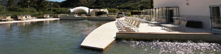 Le piscine delle Terme di Agnano a Napoli