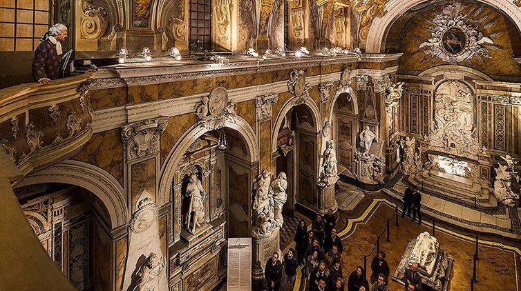 La visita teatralizzata il Testamento di Pietra alla Cappella Sansevero