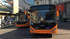 Автобус ANM в Неаполе