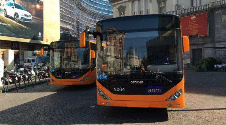ANM bus in Naples