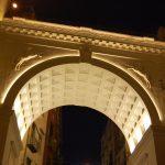 Ponte di Chiaia di sera