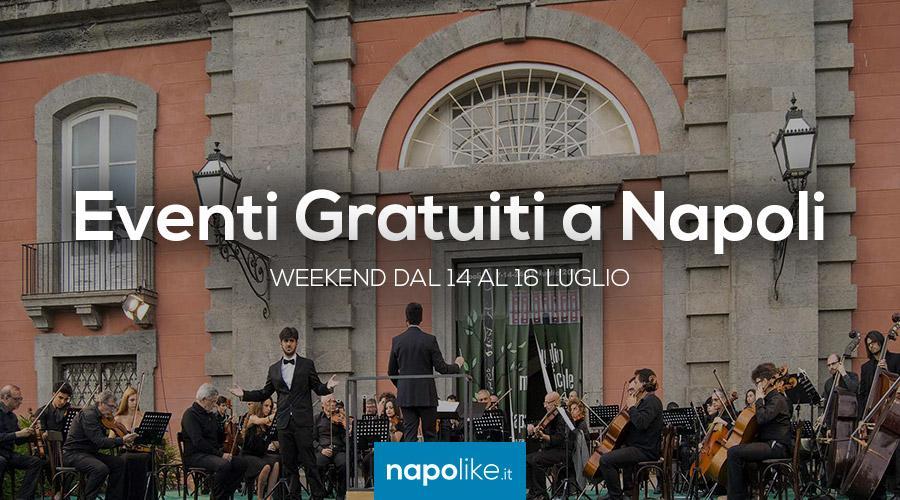 Eventi gratuiti a Napoli, weekend 14, 15 e 16 luglio 2017