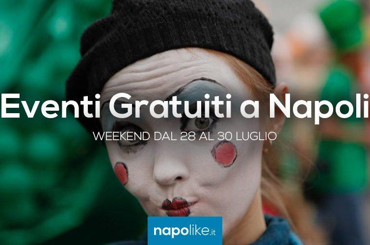 Eventi gratuiti a Napoli weekend dal 28 al 30 luglio 2017