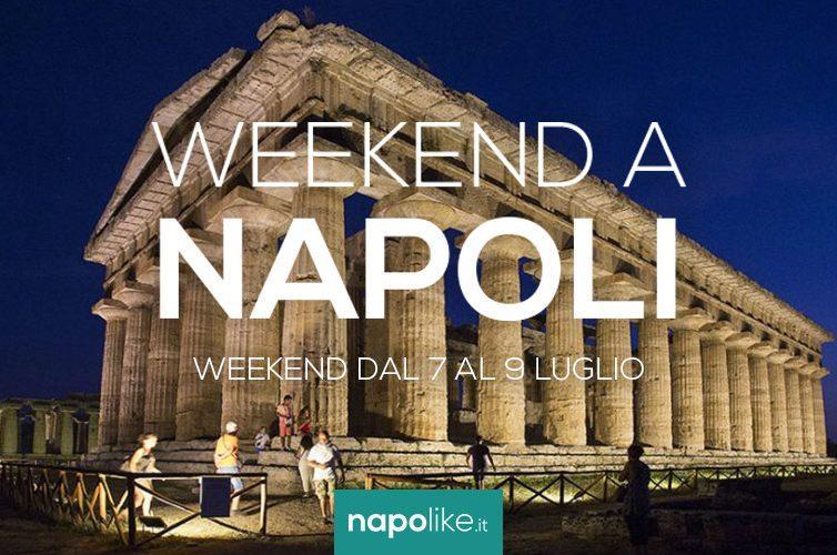 Consigli sugli eventi a Napoli nel weekend dal 7 al 9 luglio 2017