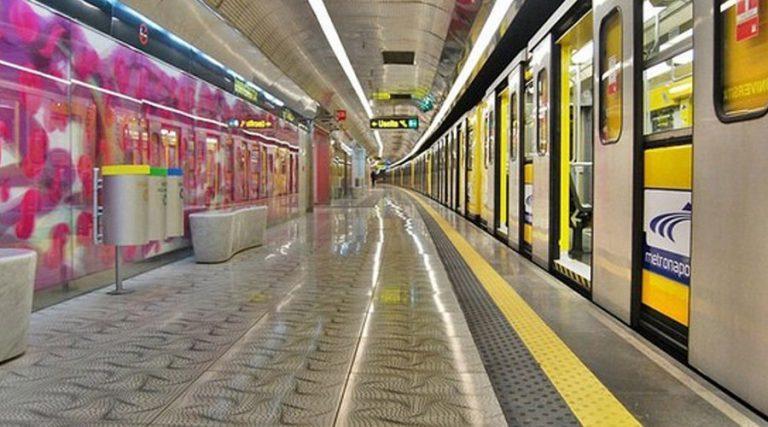 Métro ligne 1 Naples, fermetures anticipées 19 et 20 Juillet 2017