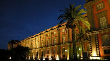 Capodimonte Museum in the evening, aperitif and music