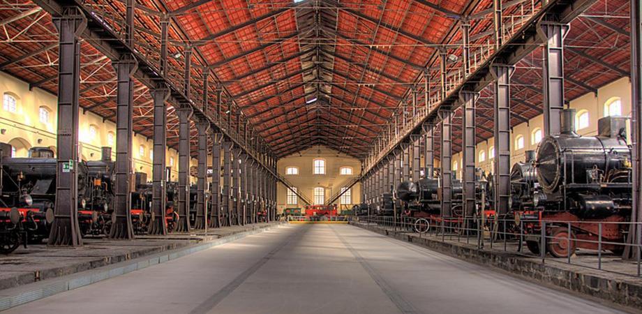 Museo Nazionale Ferroviario di Pietrarsa a Portici