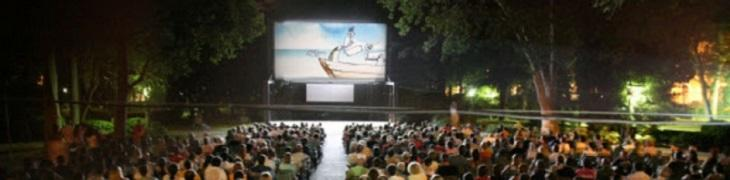 Cinema all'aperto a Portici