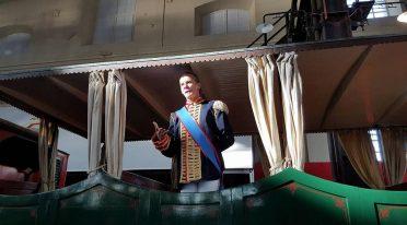 Visita in costume al Museo Ferroviario di Pietrarsa