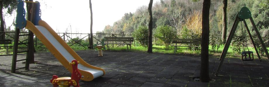 Games at the Parco dei Camaldoli in Naples
