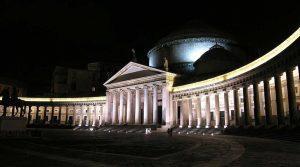 Piazza Plebiscito a Napoli