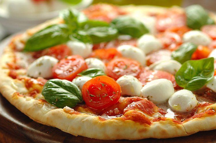Pizza margherita al filetto