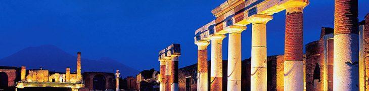 Scavi di Pompei aperti di notte