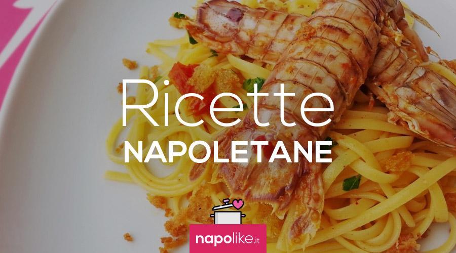 Ricetta delle linguine con sparnocchie o cicale di mare - Ricette cucina napoletana ...