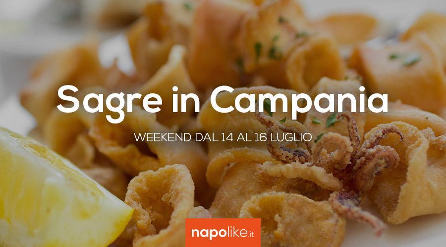 Sagre in Campania, weekend 14, 15 e 16 luglio 2017