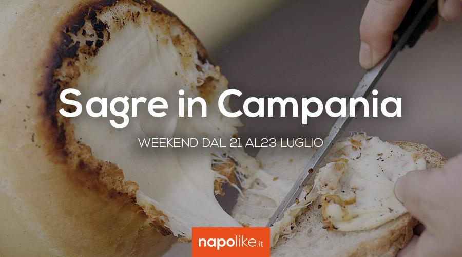 Sagre in Campania nel weekend dal 21 al 23 luglio 2017