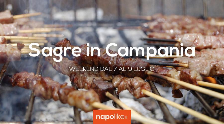 Le migliori sagre in Campania nel weekend del 7, 8 e 9 luglio 2017