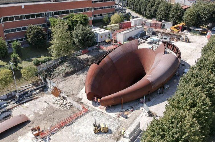 Pronta la scultura della metro Monte Sant'Angelo a Napoli