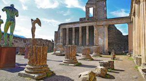 poster of The Archaeological Excavations of Pompeii reopen to the public
