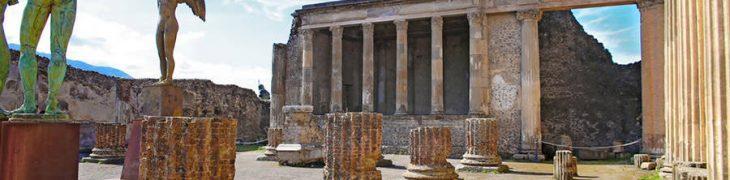 Ausgrabungen von Pompeji, erhöhen die Tickets von der 2018