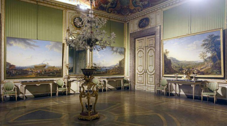 Historic apartments Royal Palace of Caserta