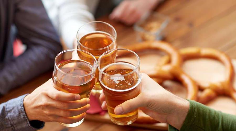 Birra e pretzel, Festa della birra a Telese Terme