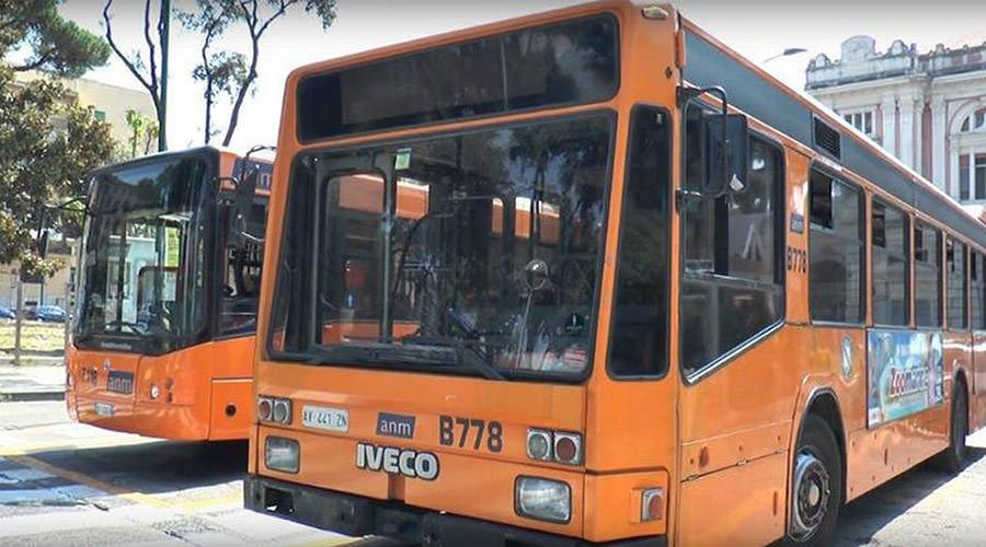 ANM bus in Naples, 24 strike on 2017