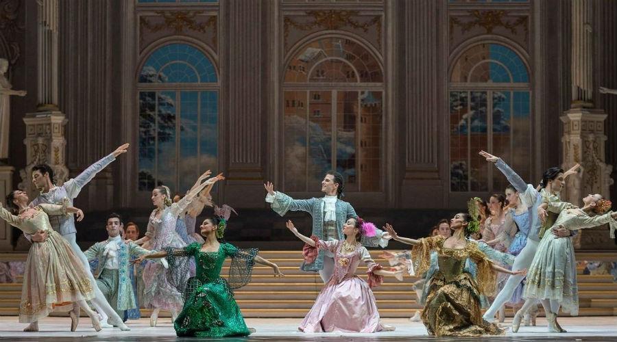 Gran Ballo di Cenerentola Teatro San Carlo Napoli