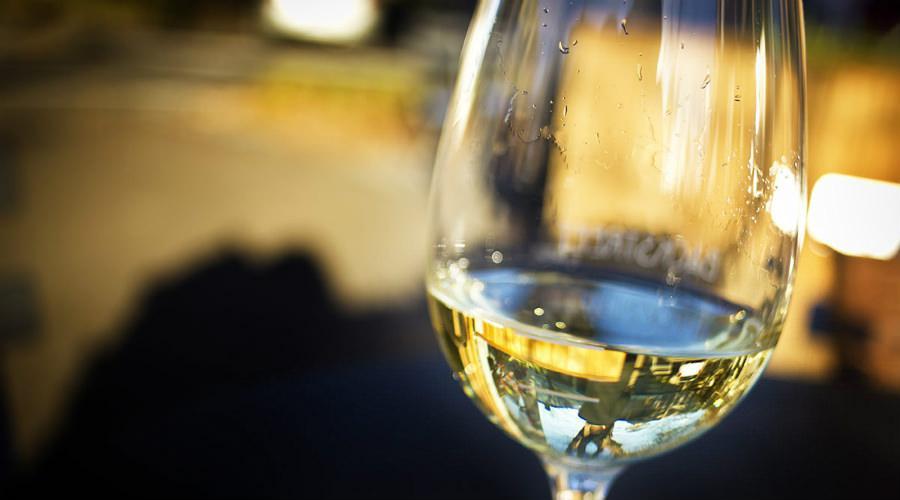 Vino bianco al Festival Tufo Greco