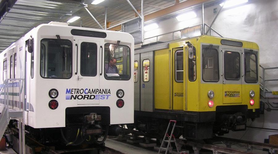 MetroCampania NordEst da Napoli ad Aversa, riprendono le corse mattutine e serali