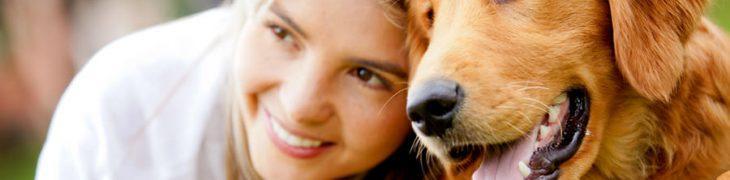 Ragazza con cane, Quattro Zame in Fiera 2017 a Napoli
