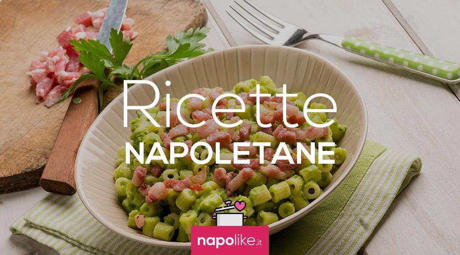 Ricetta della pasta e piselli cucinare alla napoletana - Ricette cucina napoletana ...
