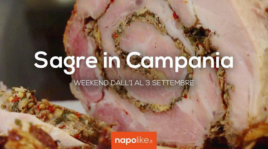 Sagre in Campania nel weekend dall'1 al 3 settembre 2017